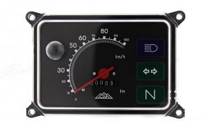 Tacho Gerätekombination - mit 12V Lampen - bis 100 km/h - SR50, SR80