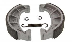 Set Bremsbacken Sport mit Stahleinlage Ø 124 mm mit Feder und Clips - Simson