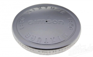 Tankdeckel Simson Prägung: Simson Mixture 1:50