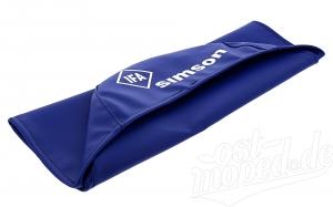 Sitzbezug SIMSON - blau - glatt S50, S51, S70, KR51/2