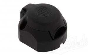 Steckdose 7-polig für Anhänger (Kunststoff)
