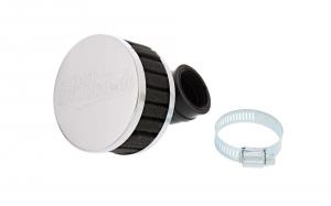 Simson Luftfilter - Tuning - schwarz - 90° abgewinkelt