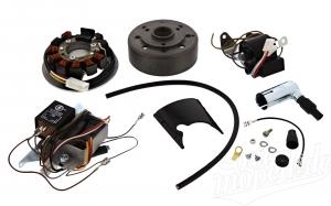 Umrüstsatz Vape auf 12V - ohne Batterie, Hupe & Kugellampen  S50,S51,S70