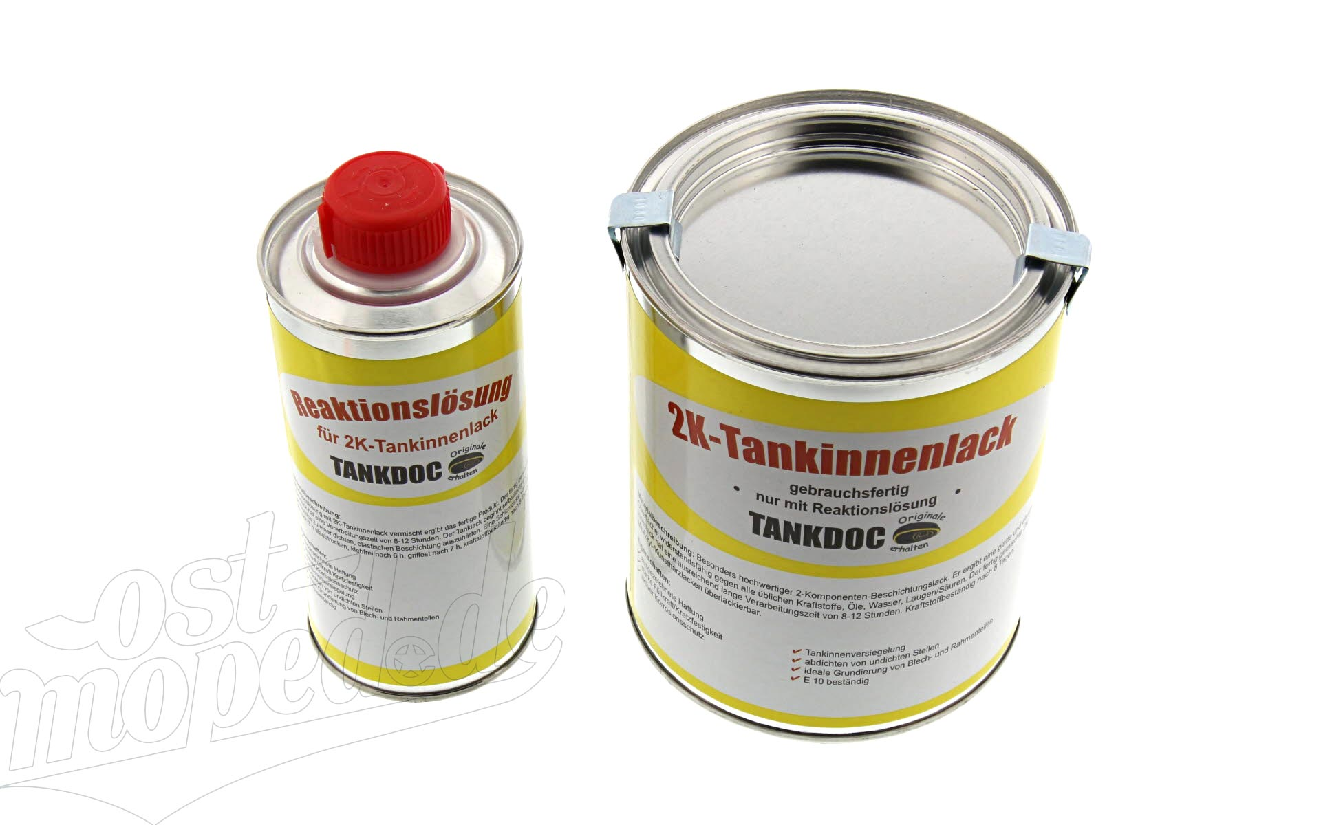 2K-Tankinnenlack (Tankinnenlack+Reaktionslösung) Tankinnenlack 540g und Reaktionslösung 135g  (Einze