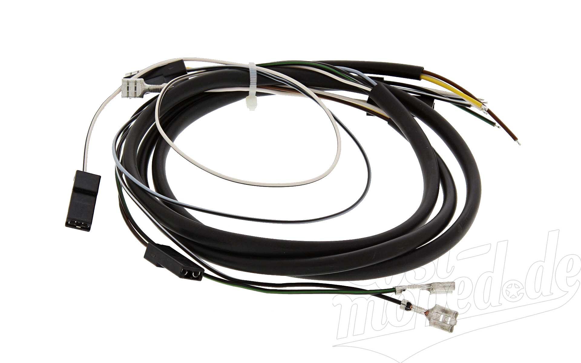 SR80 Simson SR50 Kabelbaum für Schalterkombination 12 Volt ohne Lichthupe