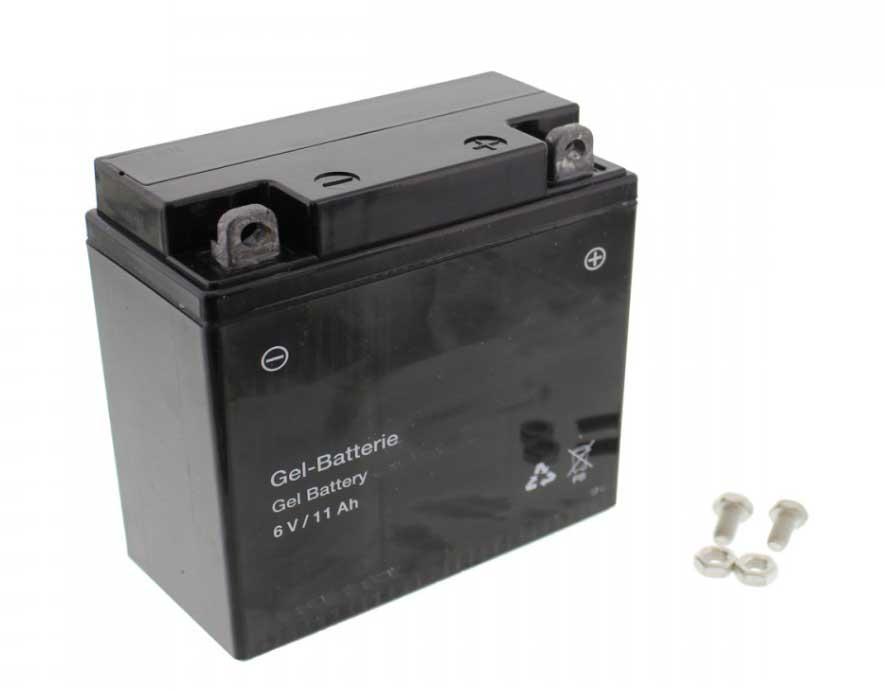 Batterie 12V 5Ah - S51, S70, SR50, SR80 - Gel