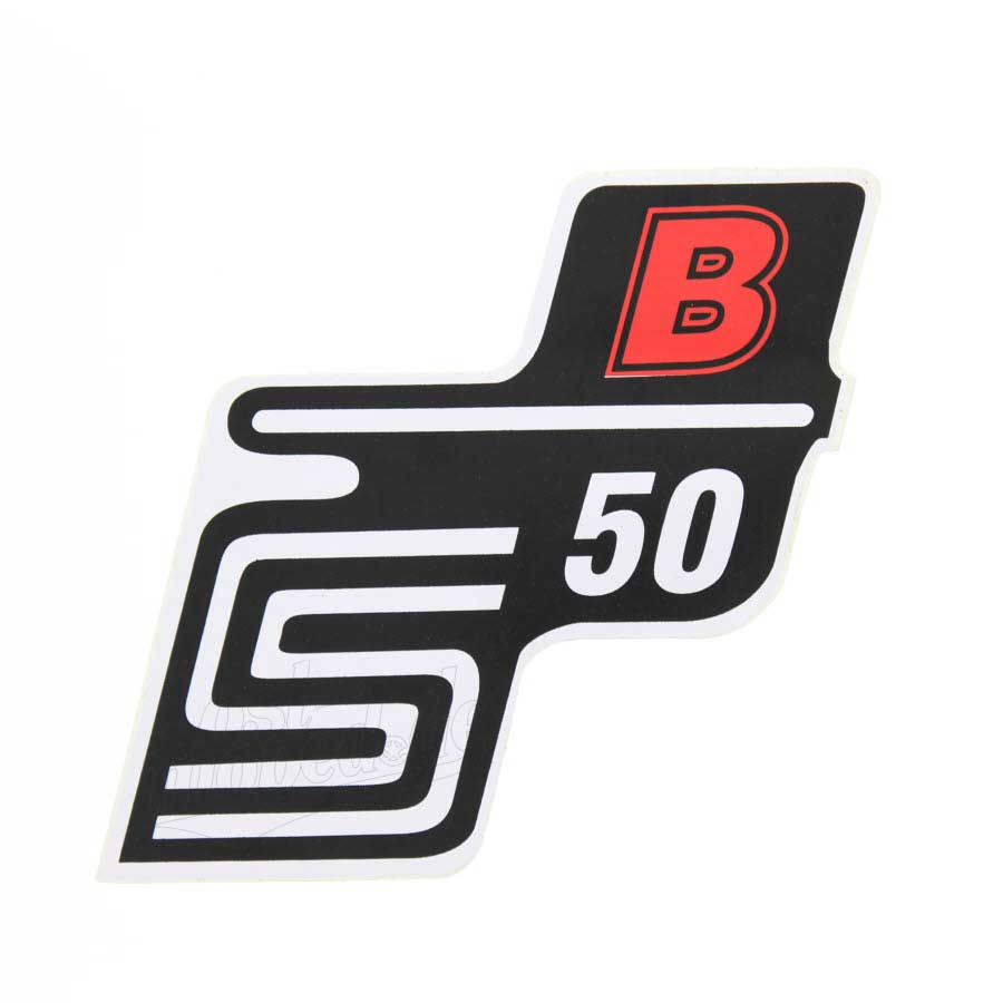 Simson s50 aufkleber klebefolie seitendeckel s50b rot for Klebefolie rot