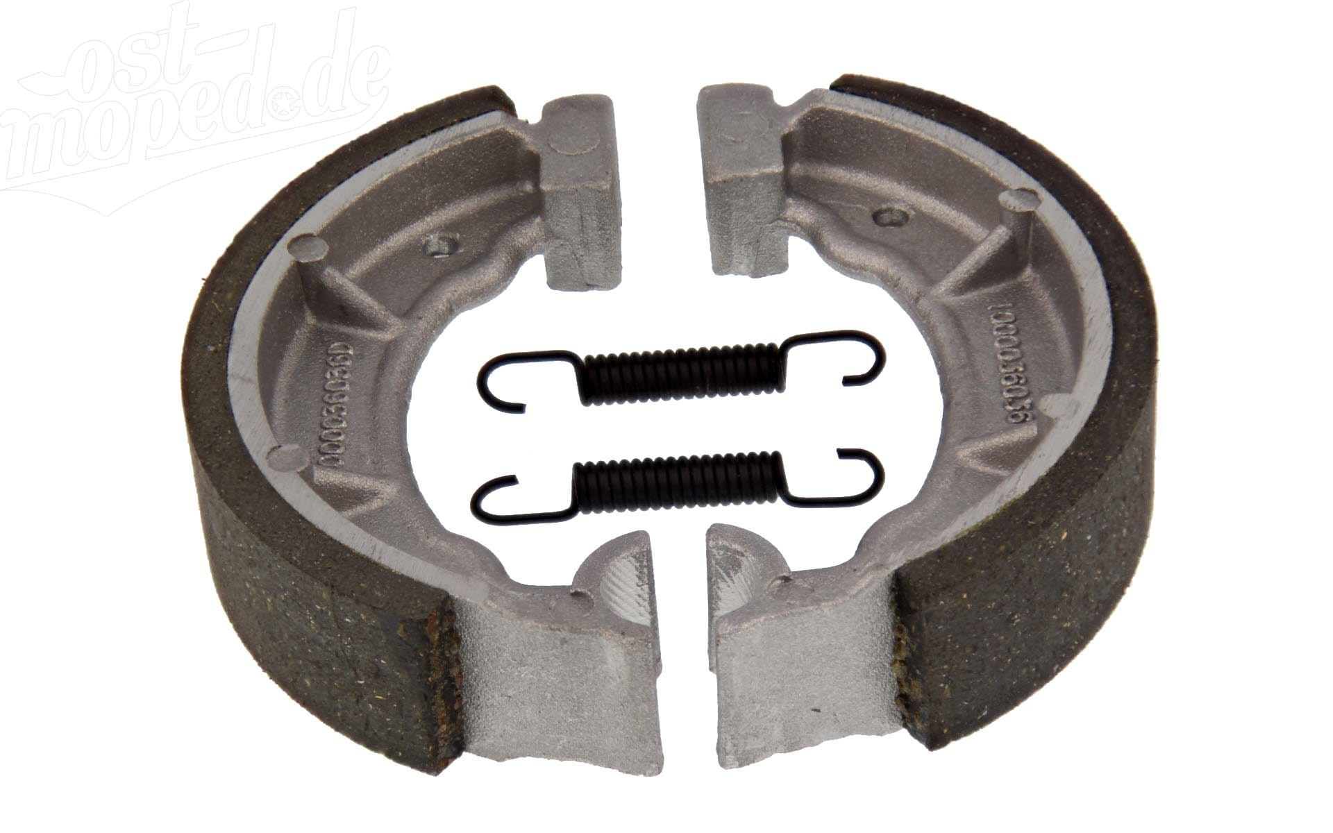 SR2 Set: Bremsbacke SR2E KR50 für Simson SR2 KR50