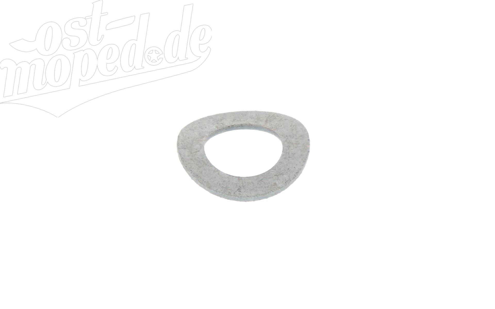 Federscheibe B8 - DIN137 - gewellt
