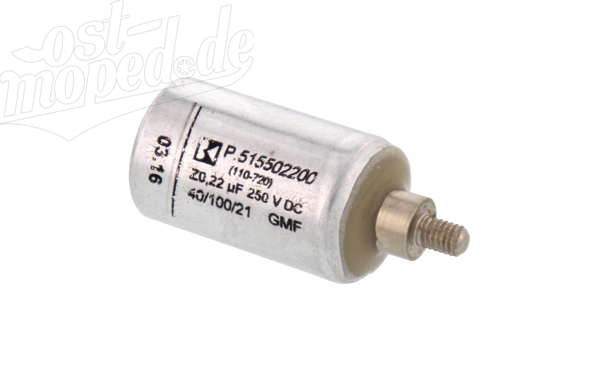 Zündkondensator 9042 für alle Simson mit Unterbrecherzündung & ETZ125, 150, 250, 251, 301