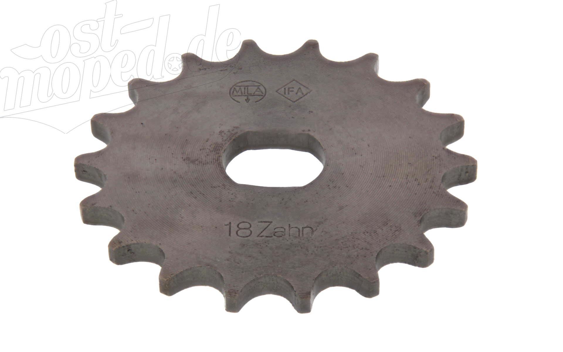 Ritzel - 18 Zähne - S51, S53, SR50, KR51/2