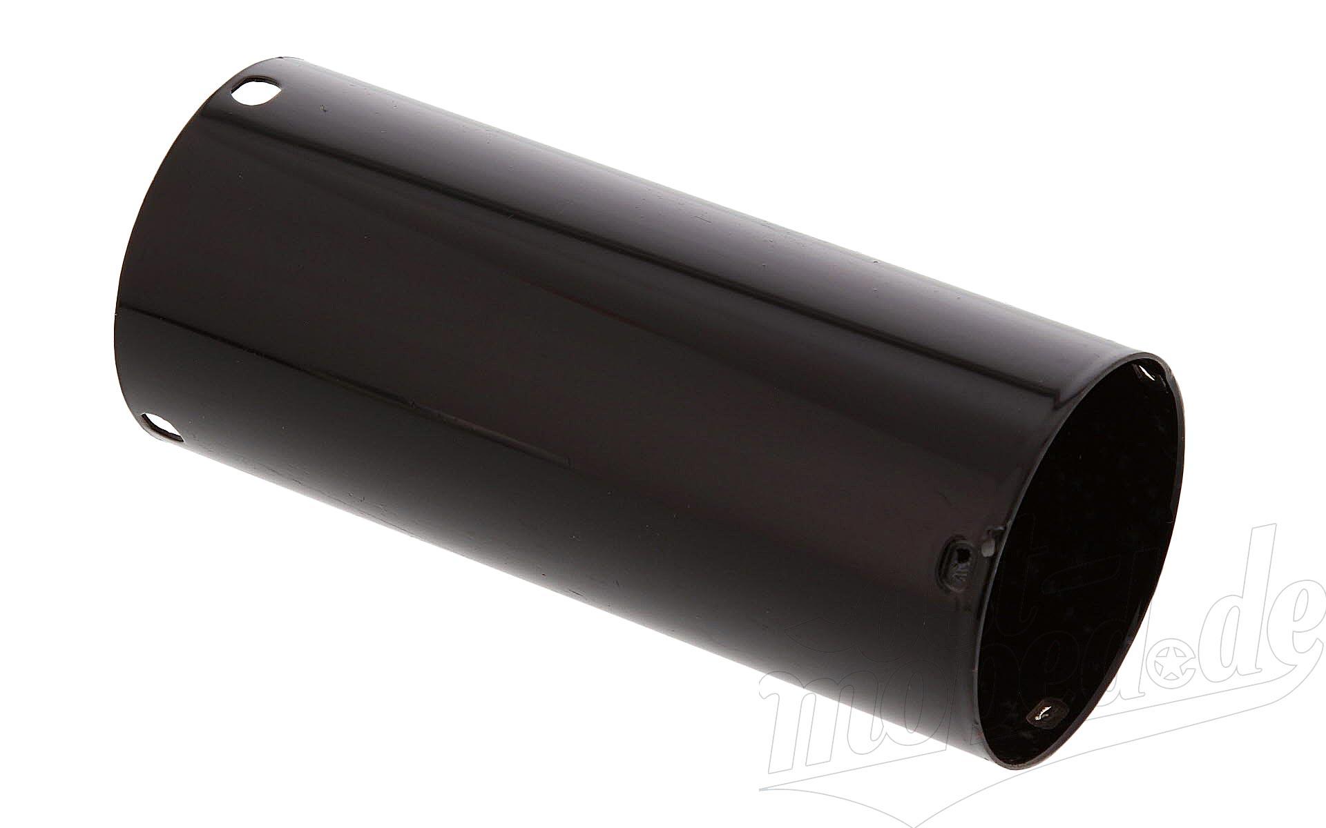 Untere Schutzhülse für Federbein Seitenwagen, schwarz