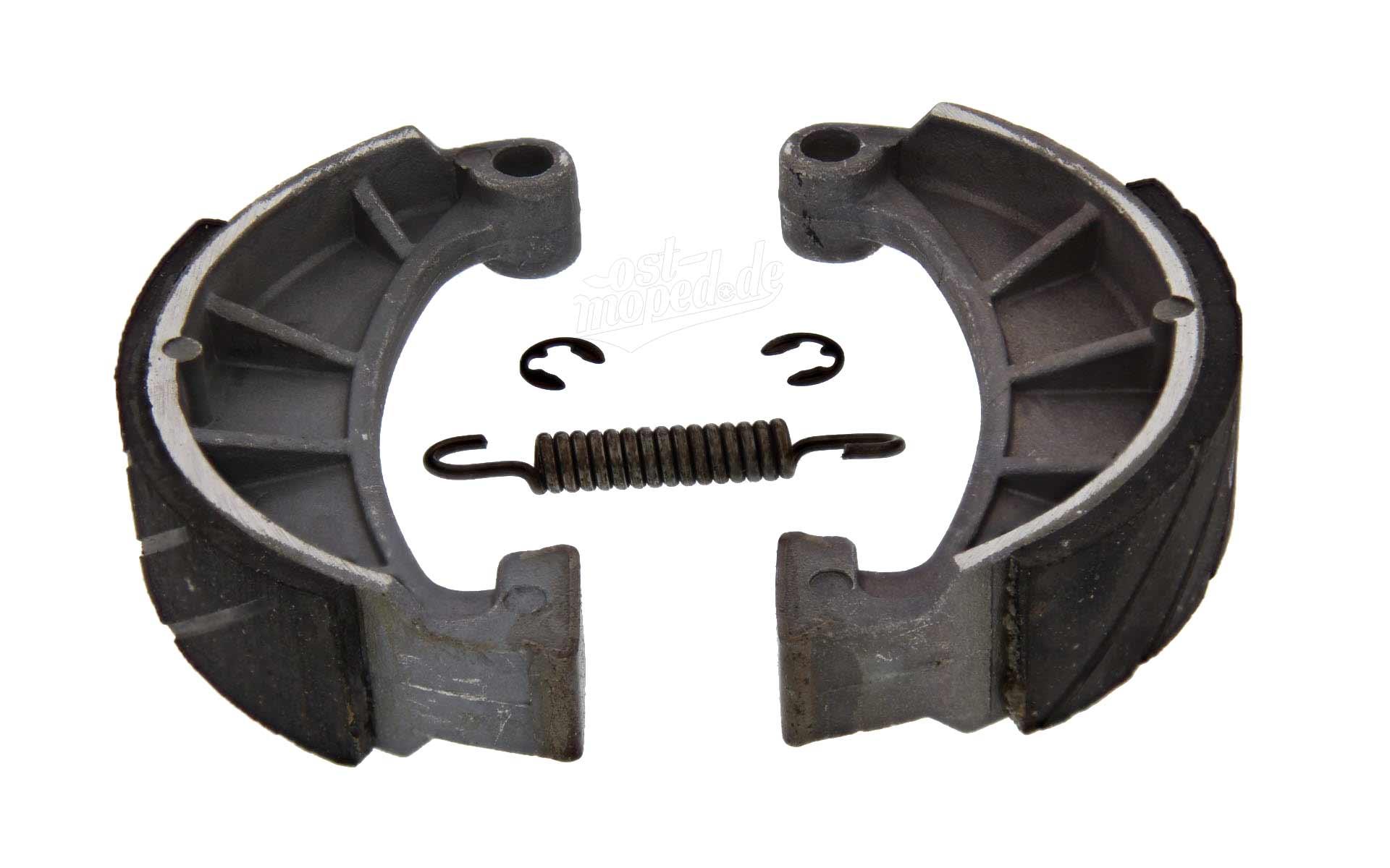 2x Bremsbacken SIMSON SPORT SIMSON Set inklusive Feder + Sicherungsclips