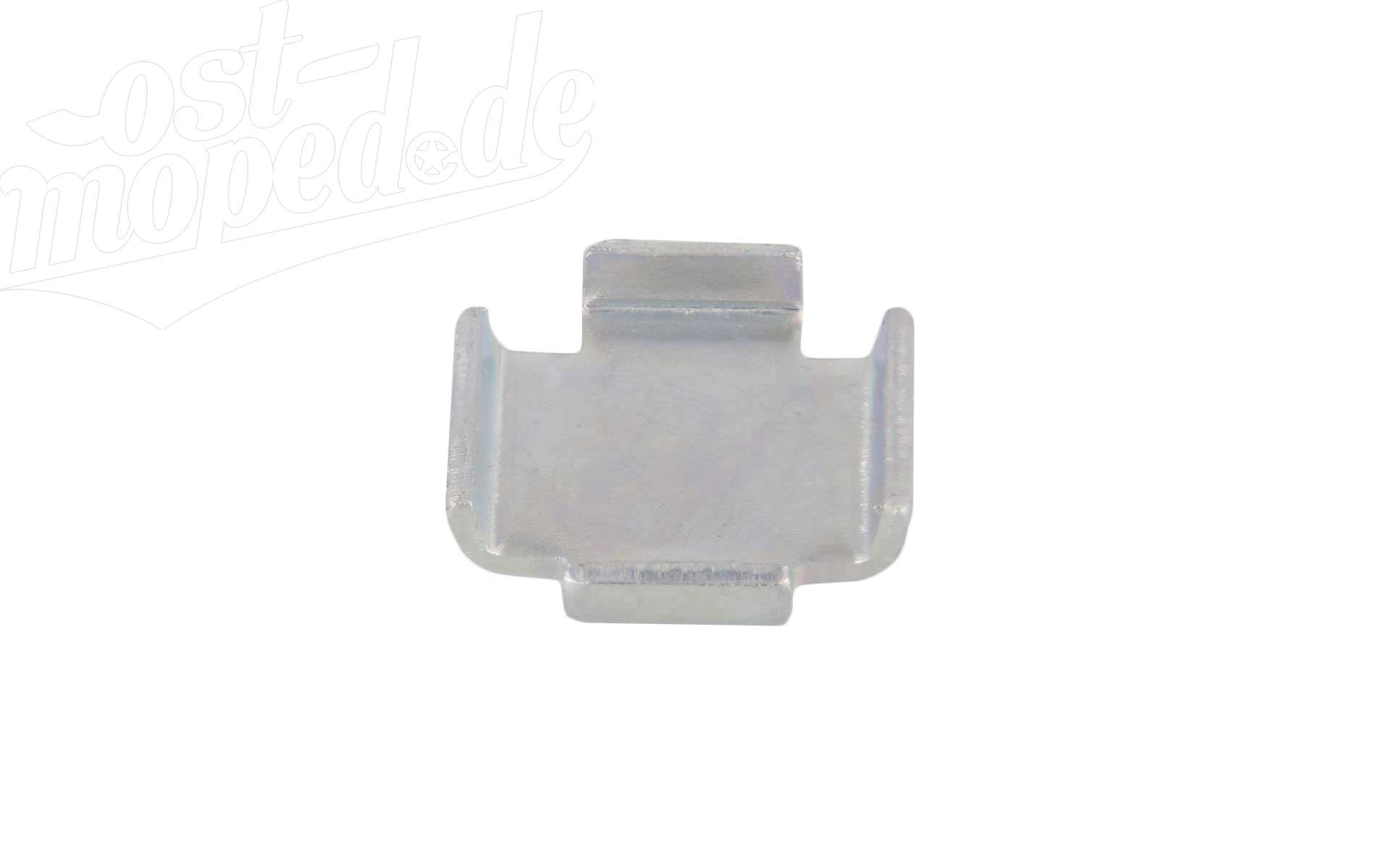 Zwischenlage 1,5mm für Bremsbacken - Simson